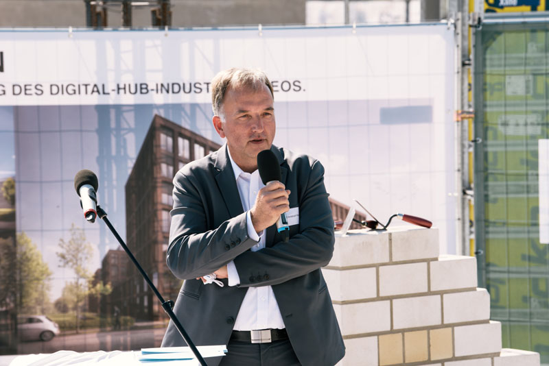 Christoph Ranze, CEO encoway, during his speech